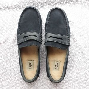 UGG Australia rubber sole, Charcoal Suede. NEW.